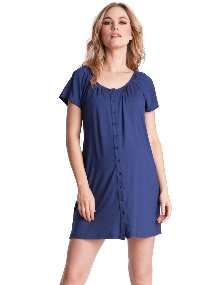 ... hem  li   li Loose fitting shape  li    ul   p We have created the perfect  button down nightie which you will not only enjoy during your pregnancy but  ... 289bc9a50