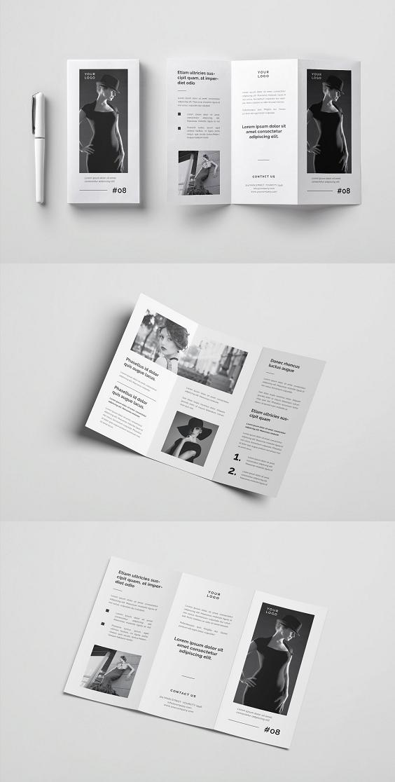 Multipurpose Brochure Brochure Design Layout Leaflet Design Leaflet Layout