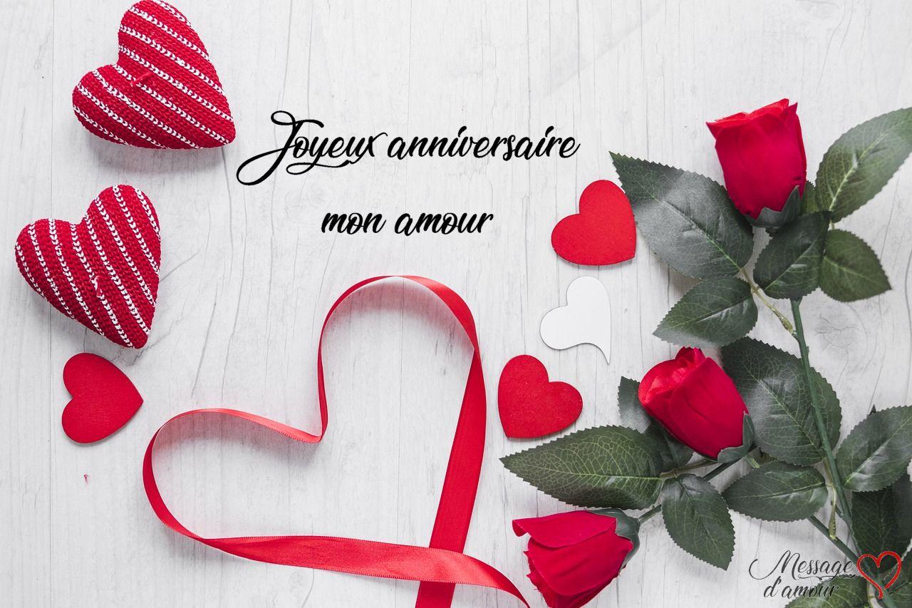 Sms Joyeux Anniversaire Mon Amour Joyeux Anniversaire Mon