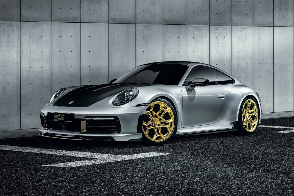Techart Adds 59 Horses Bling To 2020 Porsche 911 Carrera 4s Carscoops In 2021 Porsche 911 Carrera 4s Porsche 911 Carrera Porsche