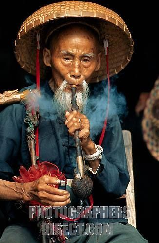 chinese men in straw hats | chinesemanpipe | STRAW HATS