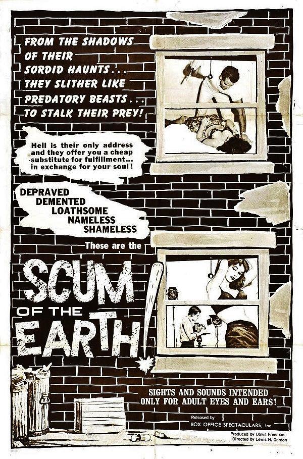 SCUM OF THE EARTH cult film
