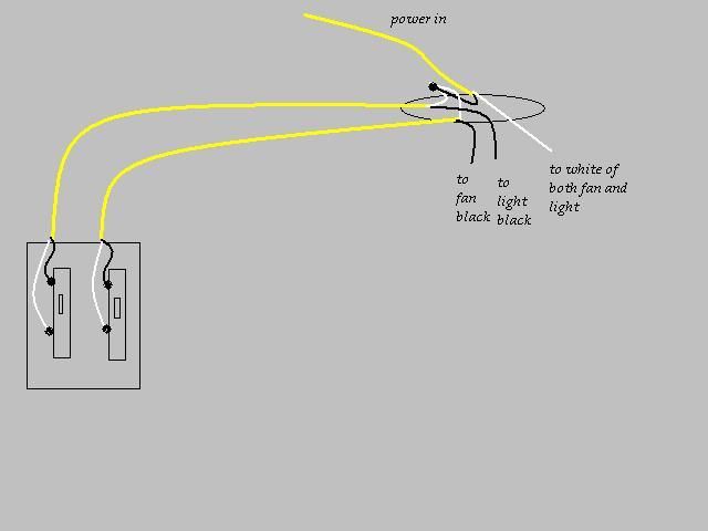 source wiring diagram for bathroom fan and light