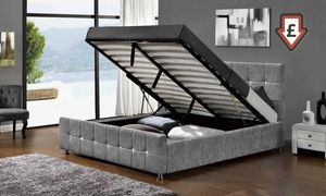 Awe Inspiring Groupon Double Or King Size Sansa Ottoman Bed With Lamtechconsult Wood Chair Design Ideas Lamtechconsultcom