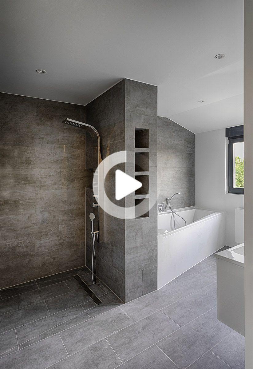 Sanierung Badezimmer Nachher   Dusche und Wanne in 2020 ...