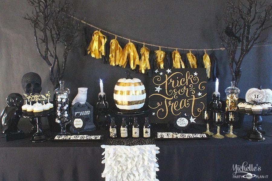 Mesa dulce para Halloween Decoración RED facilisimo Pinterest