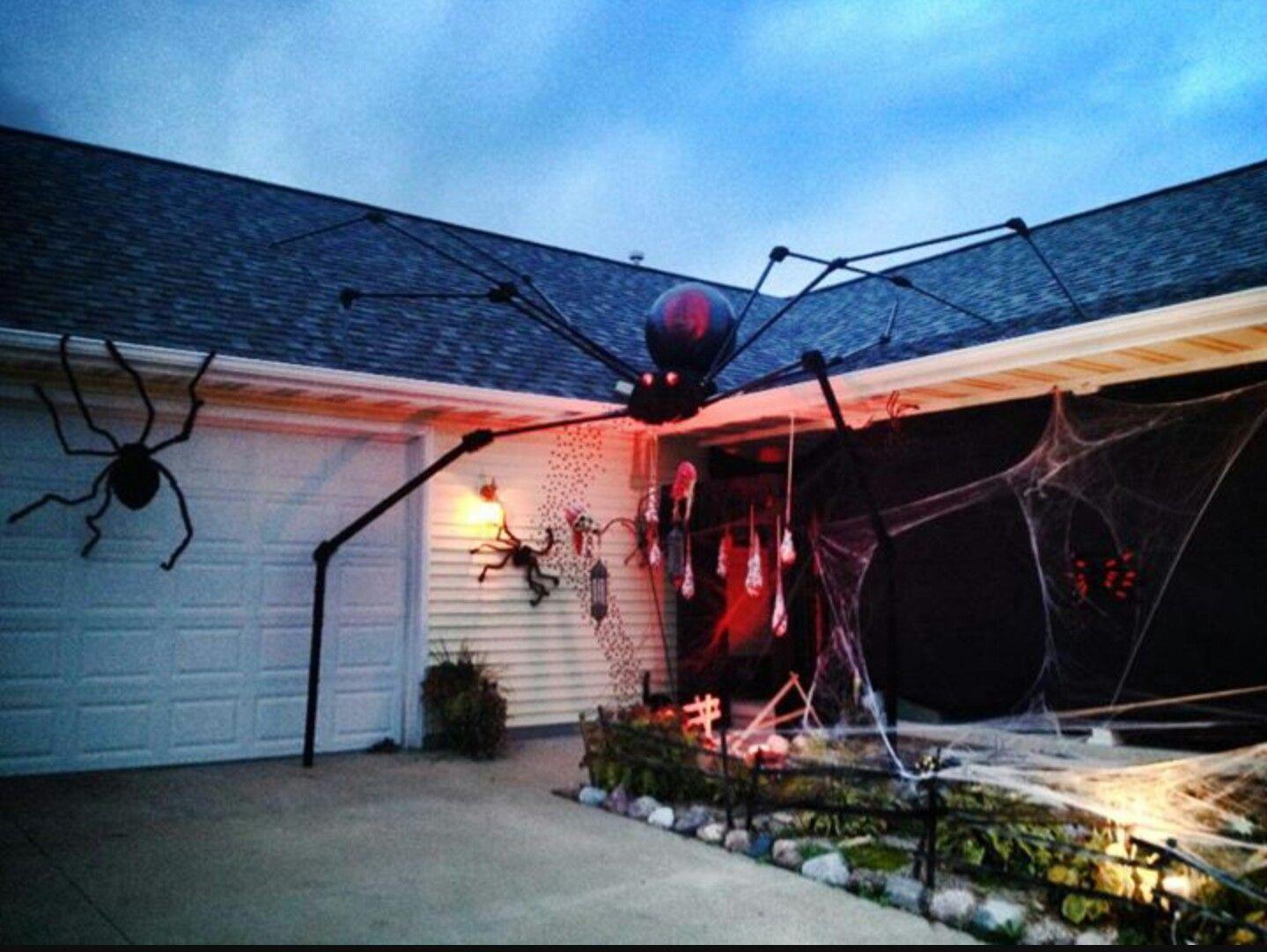 Haunted house spider theme halloween halloween Pinterest - halloween house decoration ideas