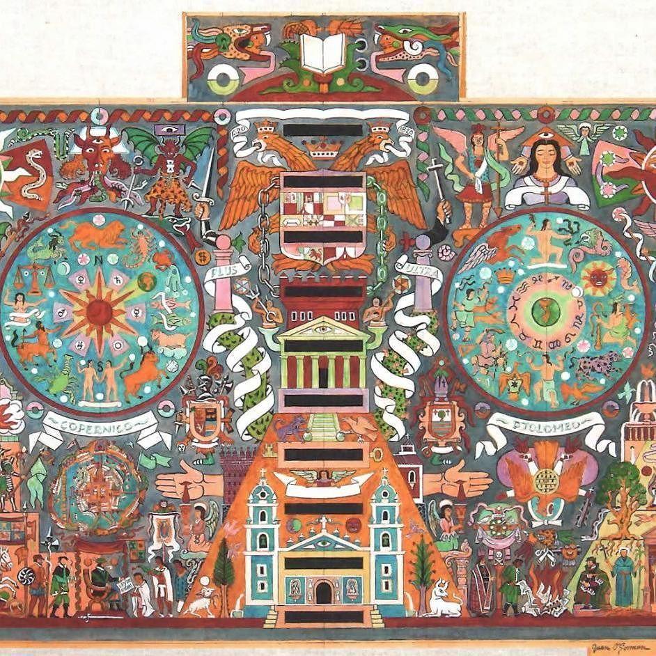 Image result for mosaic juan ogorman mexican art mosaic