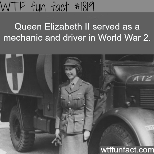 Queen Elizabeth Ll In World War  Fun Facts
