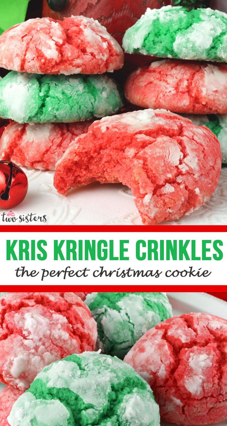 Kris Kringle Crinkles #holidaytreats