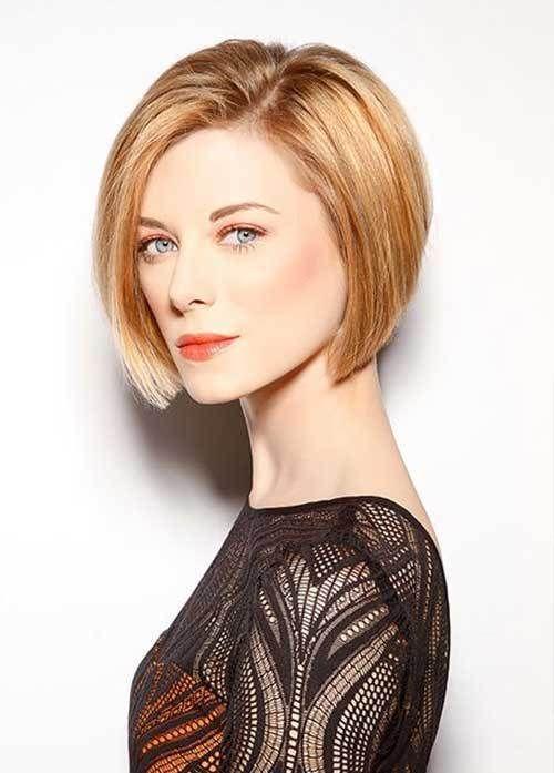 Blunt Bob Haircut for Fine Hair Women Coiffures cheveux