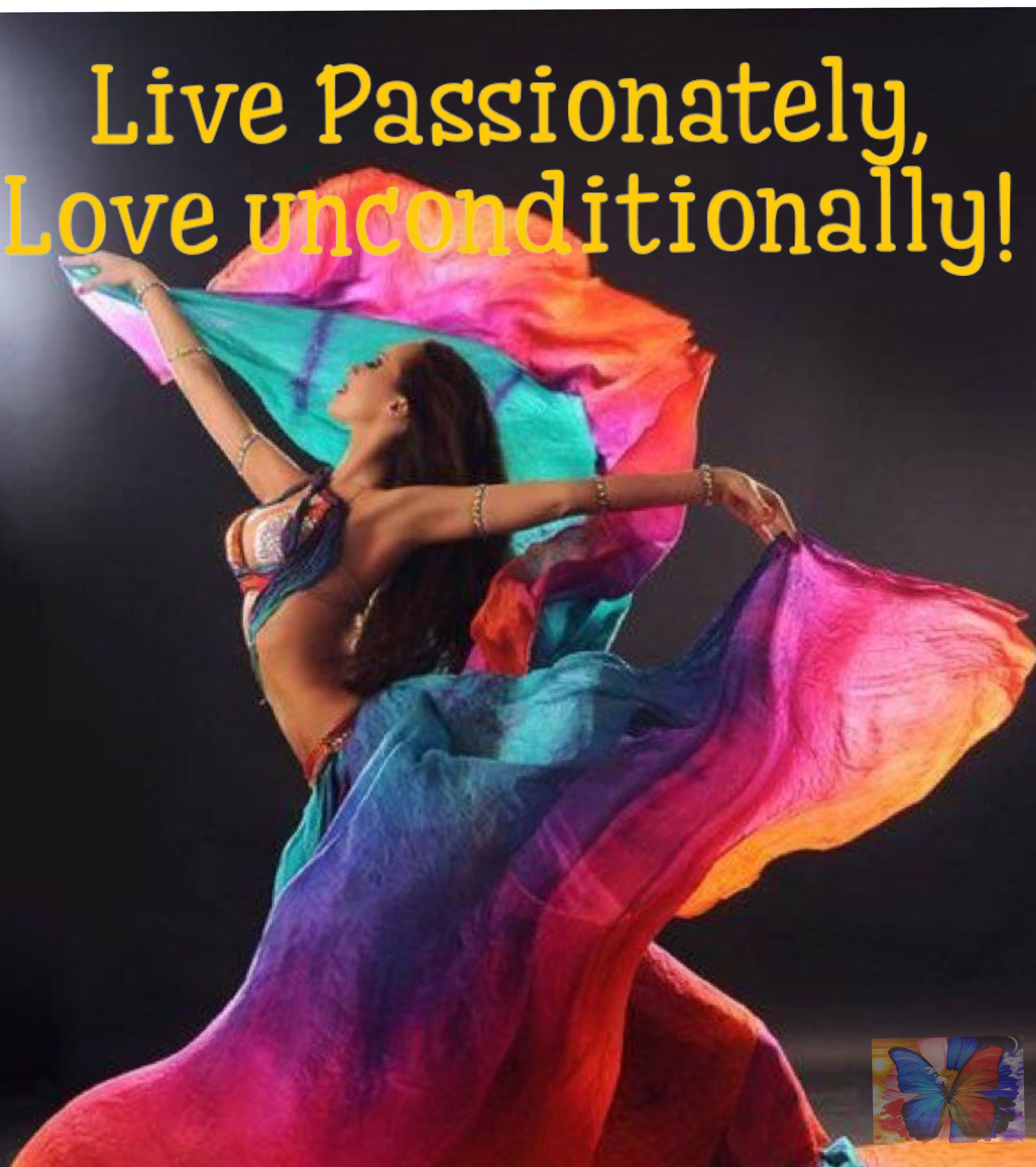 Live Passionately Love Unconditionally Licn Community
