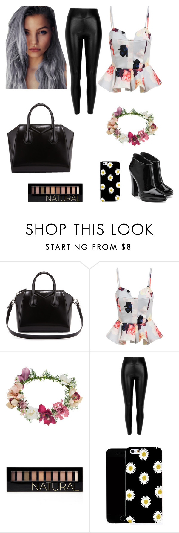 """""""Untitled #69"""" by jordangirl2313 ❤ liked on Polyvore featuring Givenchy, Topshop, Forever 21, CO and Giuseppe Zanotti"""