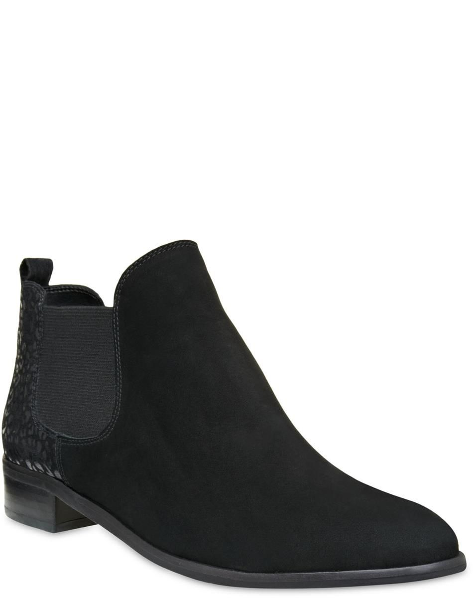 Chelsea Boot Nobuck Black