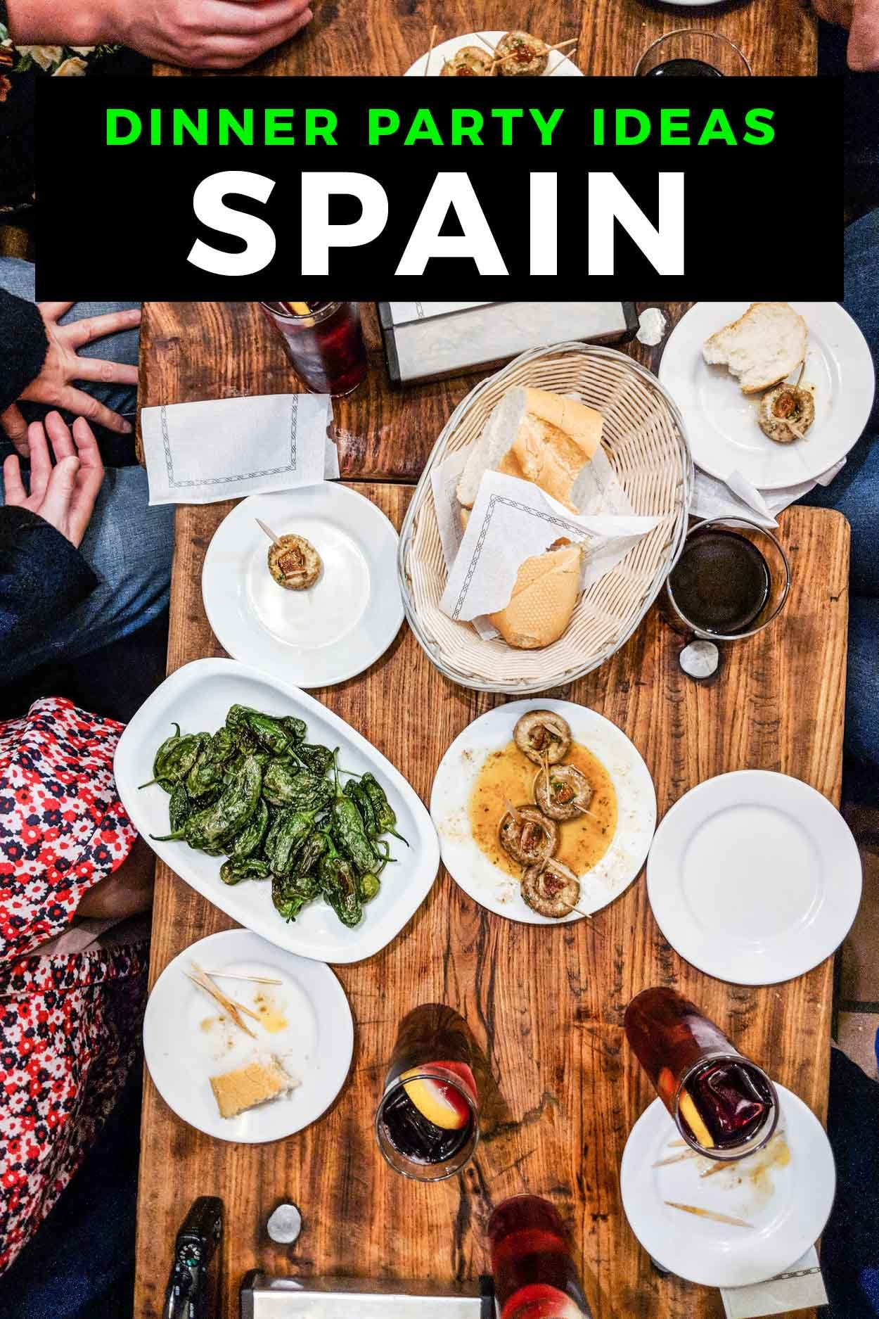 How to Host a Dinner Party with Spanish Wine and Food