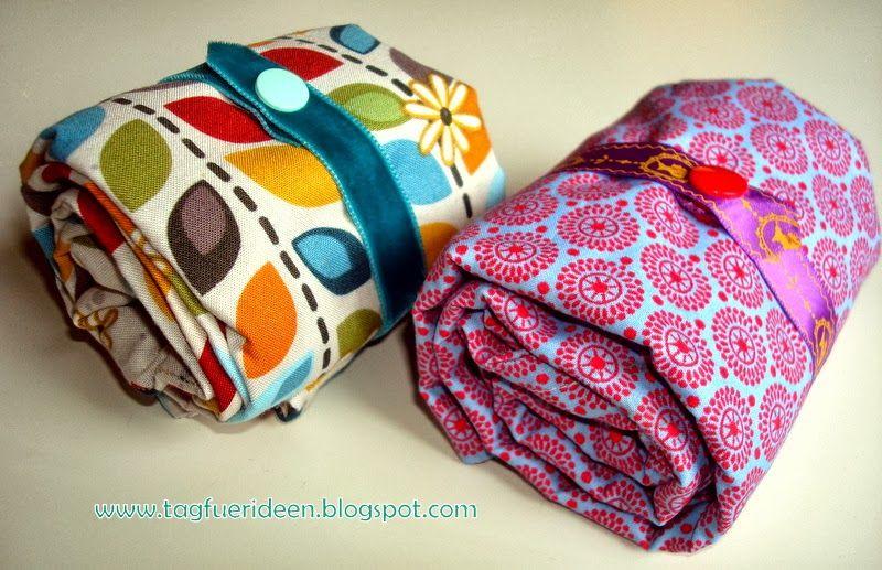 tag f r ideen einkaufstasche mit einkaufstaschenfaltanleitung n hen pinterest. Black Bedroom Furniture Sets. Home Design Ideas