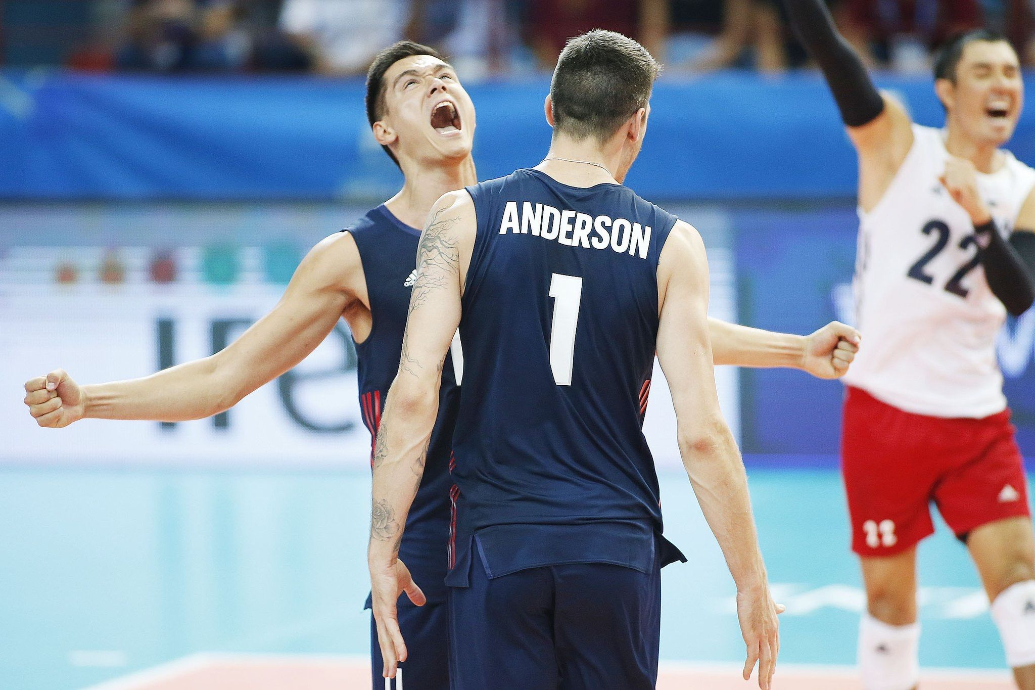 Micah Christenson Matt Anderson Matt Anderson Volleyball Players Volley