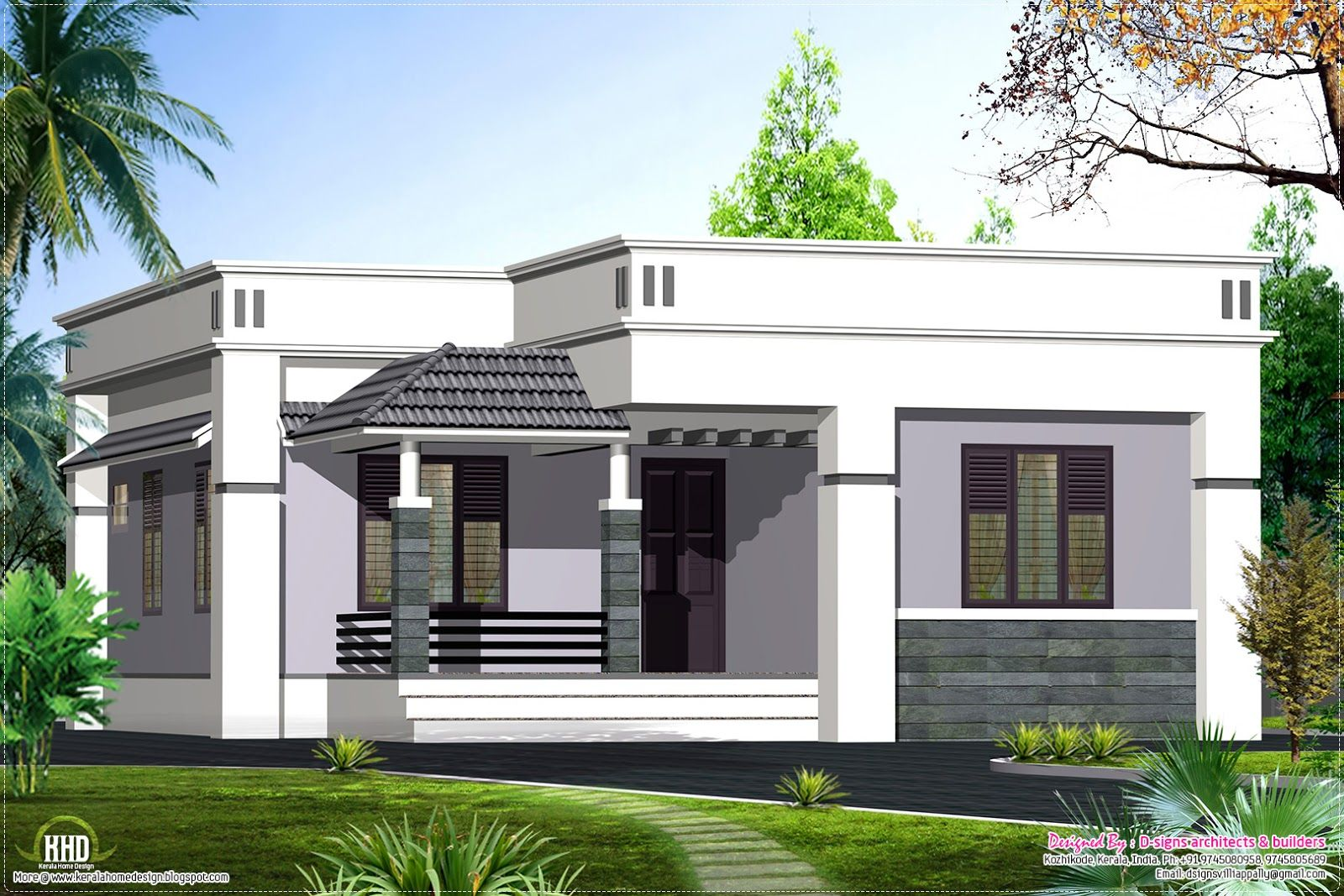 Floor house design feet kerala home and plans modern single storey beautiful south facing also suresh unni sureshunni on pinterest rh
