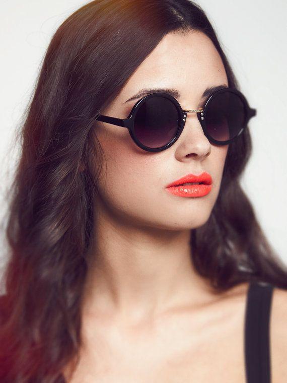 Runde Kreis Sonnenbrillen - die Beatnik auf Etsy, 14,79€