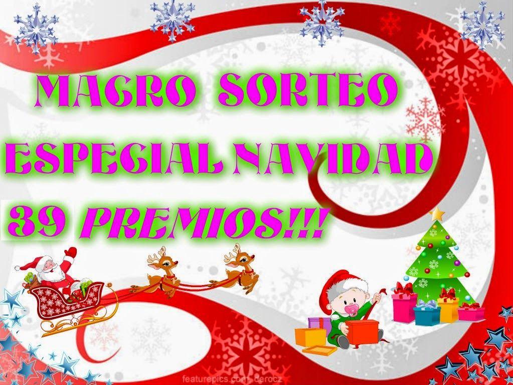 El Jardin Mágico De Mi Princesa: Macro Sorteo Especial Navidad con 39 Premios!