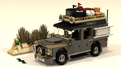 Land Rover Defender: A LEGO® creation by Alex S : MOCpages.com