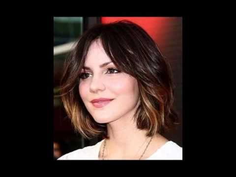 Hair Color Ideas For Short Hair Youtube Short Hair Styles Face Hair Hair Color