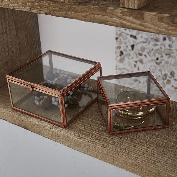 Boite A Bijoux Zodio Bijoux Cuivre Decoration Rangement Terrazzo Magasin Deco Boite A Bijoux Deco