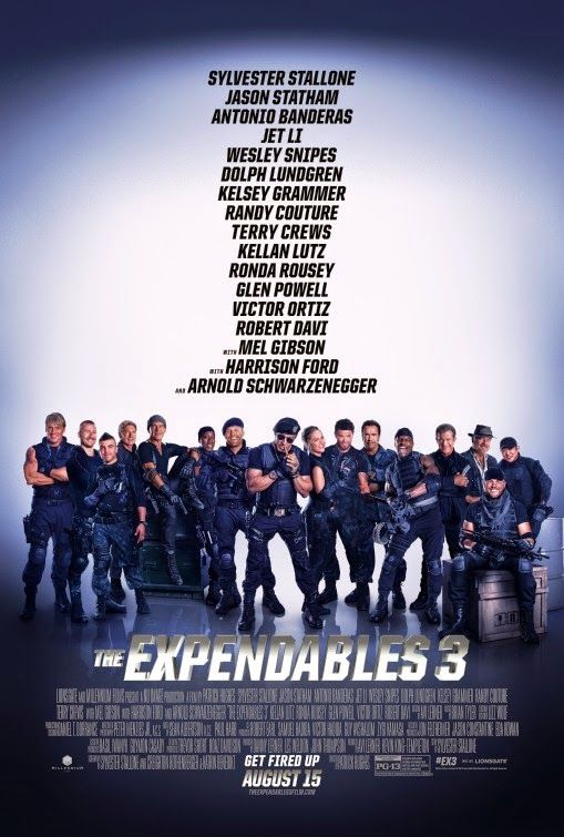 Something Cinematic : The Expendables 3 Review: A Major Missfire