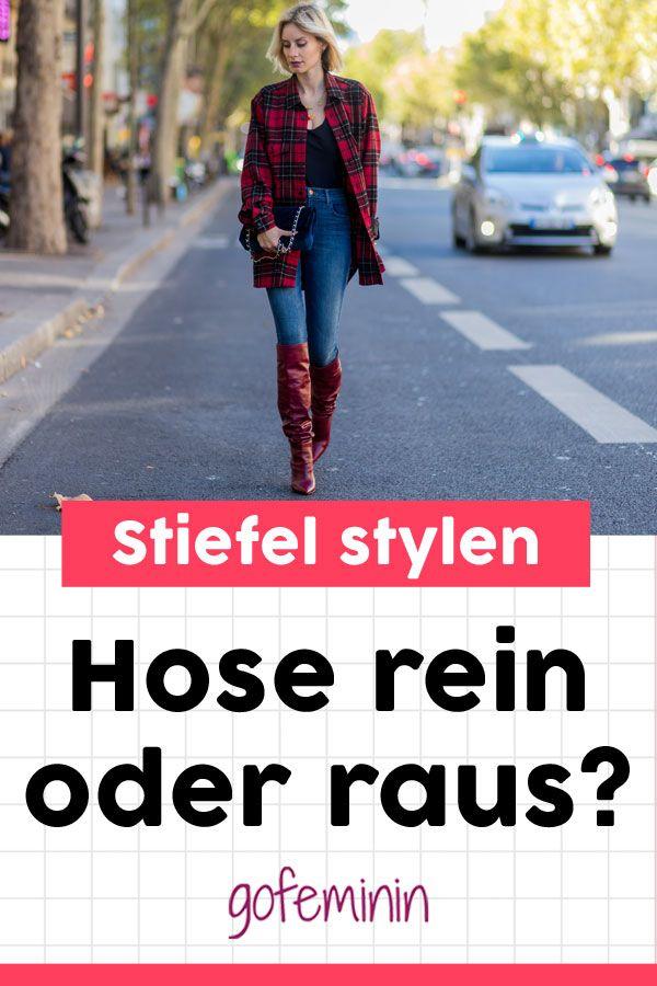 Hose rein oder raus? Wie du Stiefel, Stiefeletten & Ankle ...