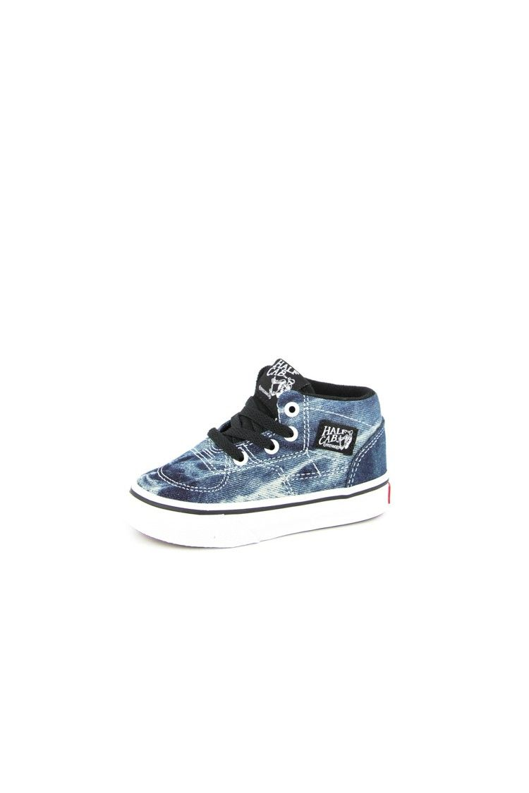 c31832f37d Vans Half Cab Toddler Shoe Acid Denim Blk Wht INFANT TODDLER KIDS SHOE  AVAILABLE