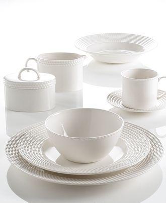 New York Servies.Kate Spade New York Wickford Dinnerware Collection