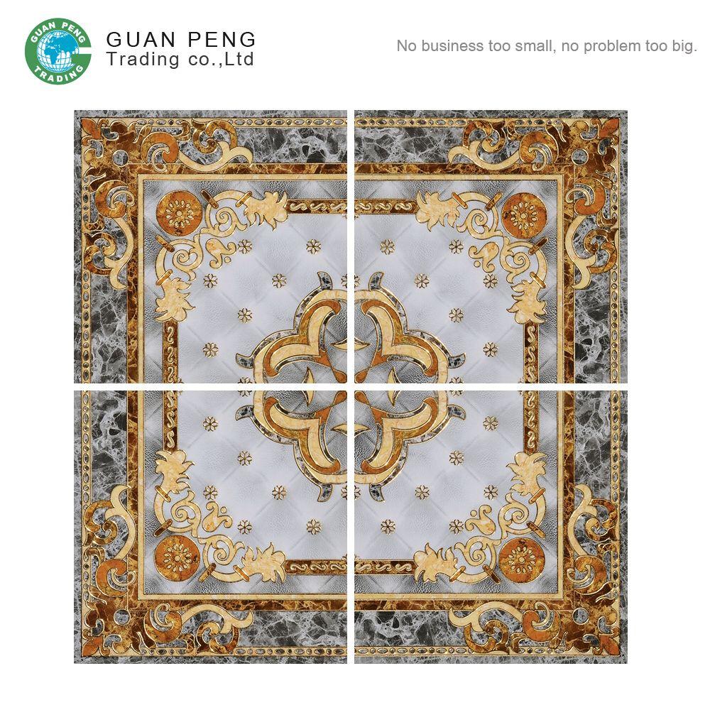 Decorative Ceramic Carpet Tile Size 1200x1200mm Polished Crystal Floor Tile Ceramic Decor Crystal Floor Carpet Tiles