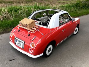 Very Rare 1992 Nissan Figaro 1 0 Litre Automatic Turbo New Nct Until May 2020 Taxed Until June 2019 Classic Insurance Nissan Figaro Cars For Sale Figaro Car