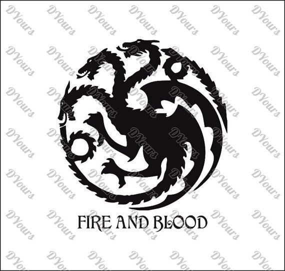 Targaryen House Game of Thrones Vector - svg cdr ai pdf eps files - Instant  Download Files for Laser 3a57be46b3