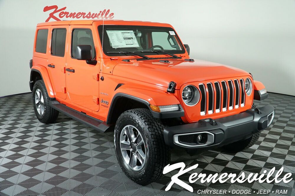 2020 Jeep Wrangler Sahara True North Edition New 2020 Jeep