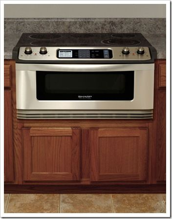 Sharps Kbks Insight Pro Series Electric Cooktop And Microwave Drawer