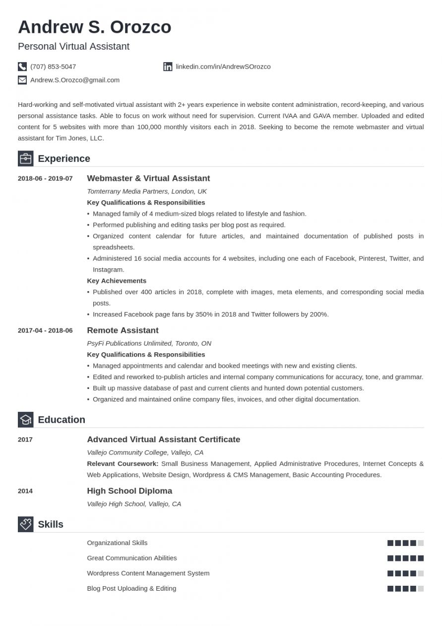 Get Our Example Of Virtual Assistant Job Description Template For Free Job Description Template Virtual Assistant Jobs Assistant Jobs Virtual assistant job description template