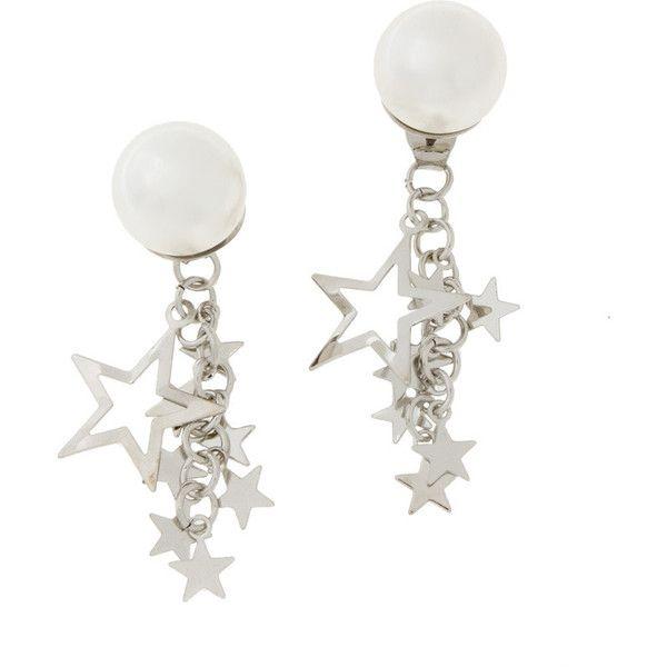 スターピアス ❤ liked on Polyvore featuring jewelry, earrings and earring jewelry