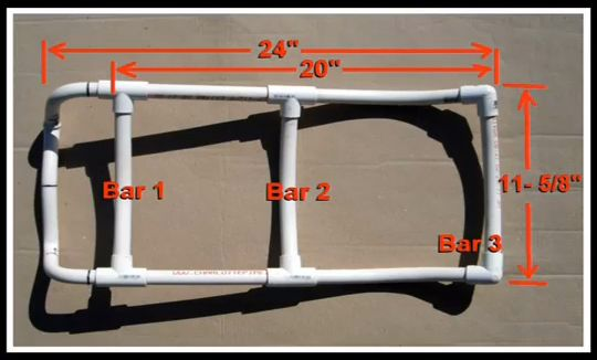 9b7c3a669580 Here is an inexpensive way to make a custom alice pack frame out of pvc.  Adding a bottom shelf to your pack frame will make it more versatile.