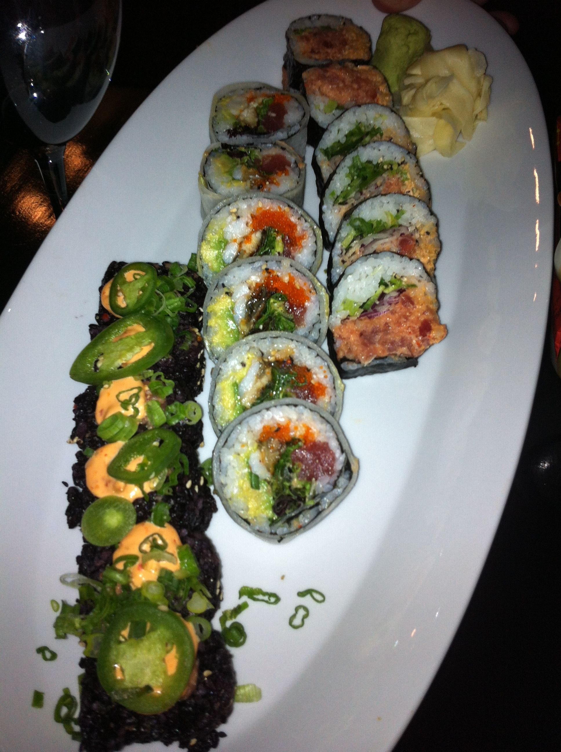 Sushi From Teak In Red Bank Nj Vegetarian Chinese Recipes Japanese Food Sushi Healthy Chinese Recipes