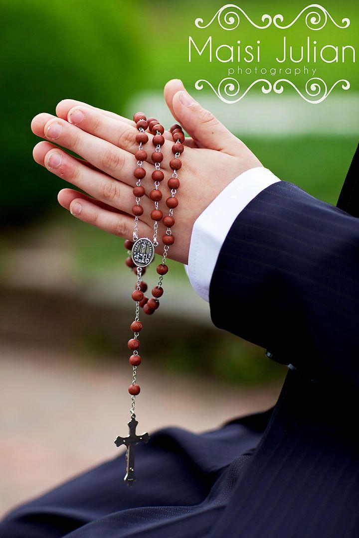 Personalised Praying Boy First Holy Communion Photo Frame