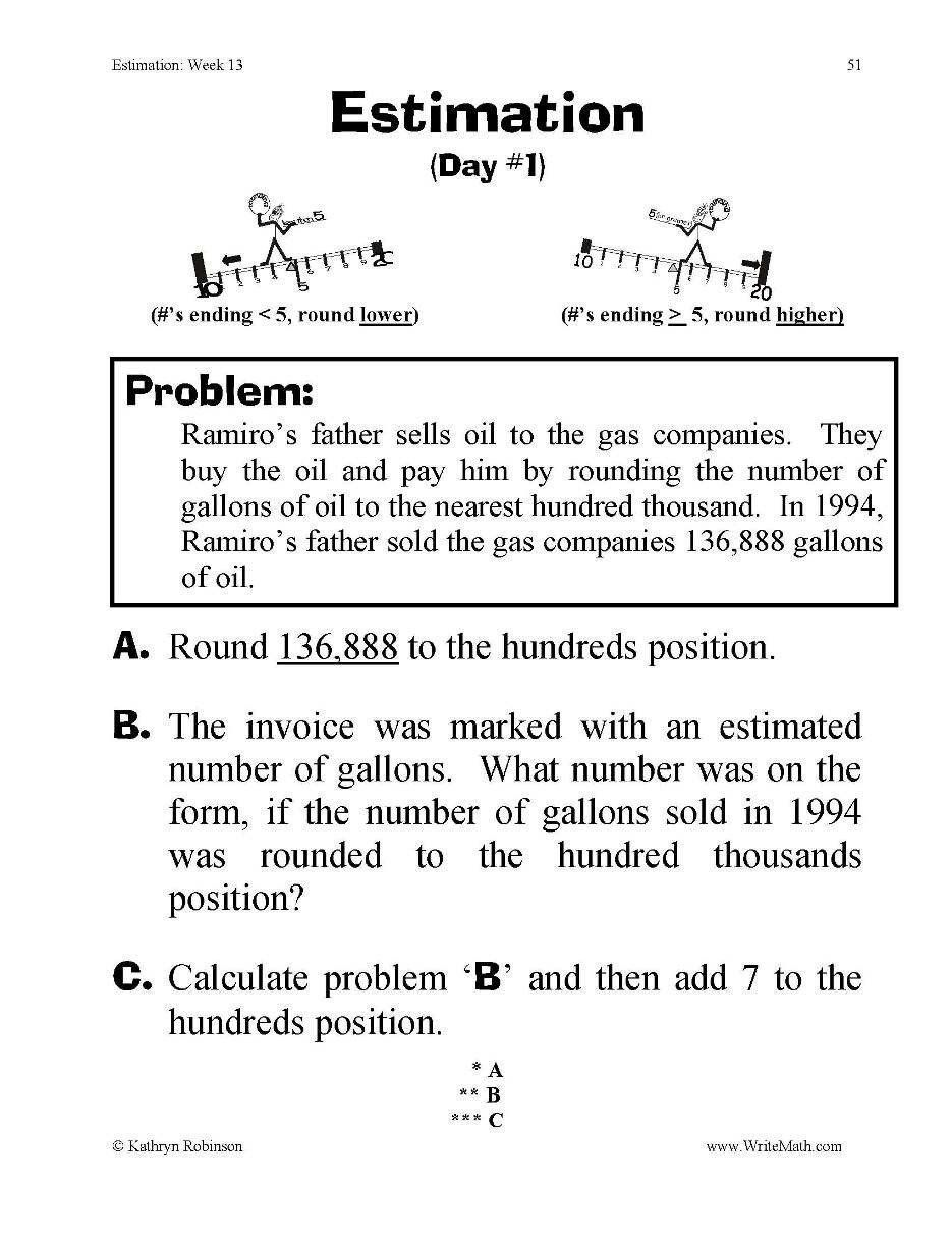 Estimating Products Worksheet 4th Grade Pin On Free Printable Math Worksheets In 2020 Free Printable Math Worksheets Math Worksheet Printable Math Worksheets