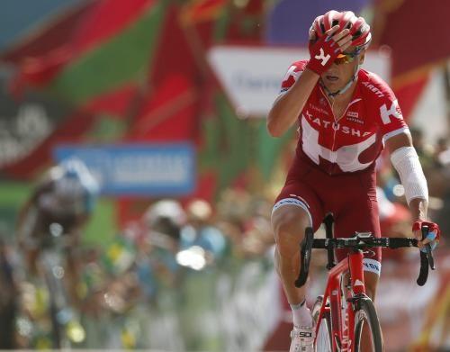 Sport: #Vuelta #ottava #tappa a Lagutin. Quintana nuovo leader (link: http://ift.tt/2boM969 )