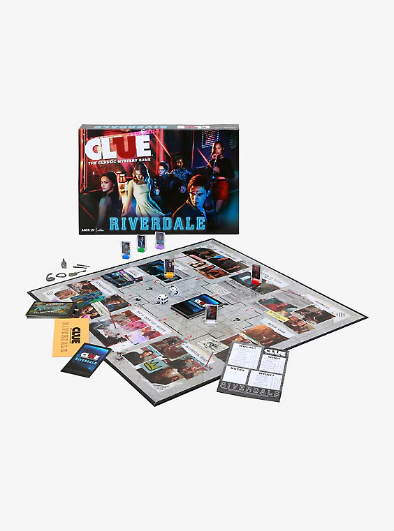 Clue Riverdale Edition Board Game in 2020 Board games