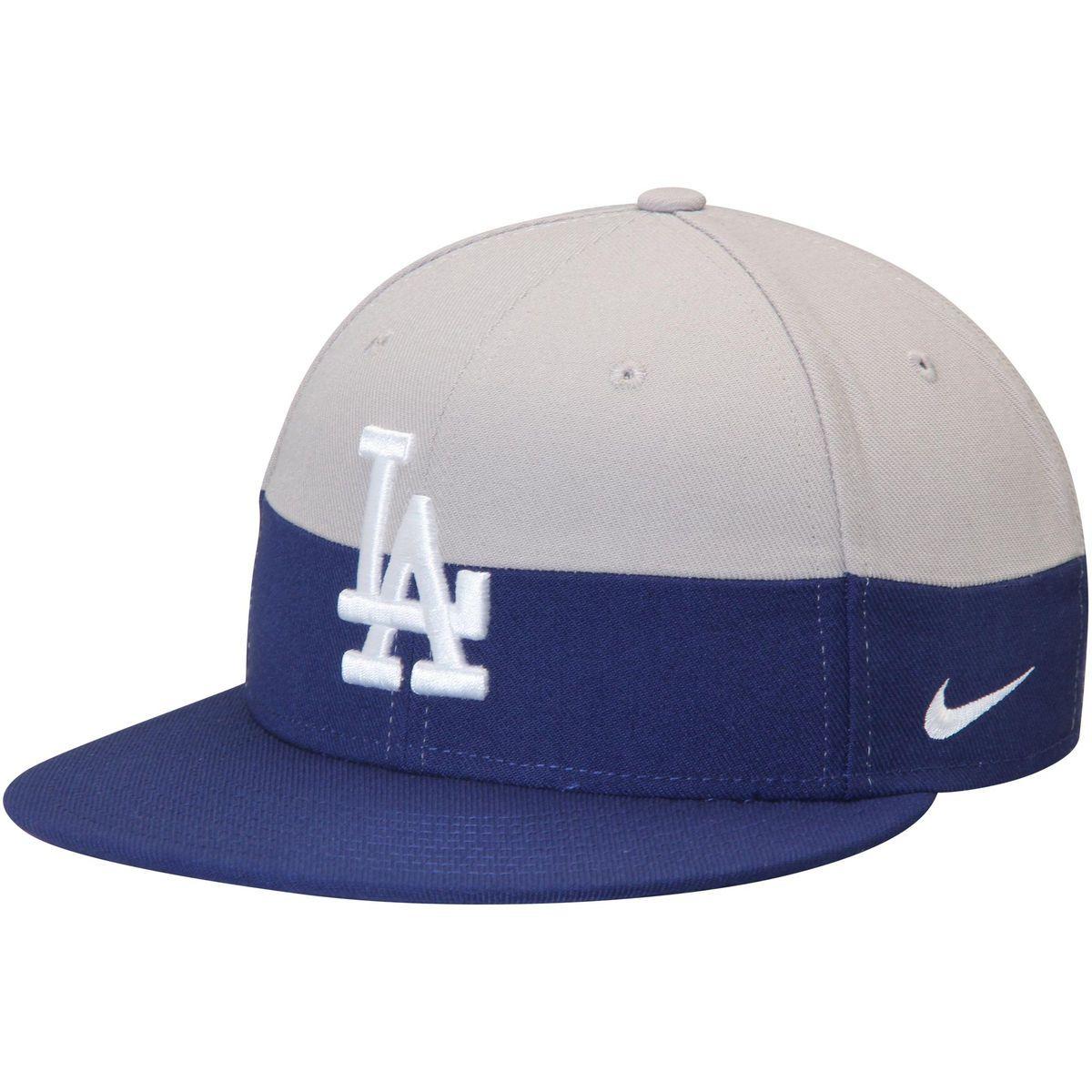 9ecd6aa2c4036 Los Angeles Dodgers Nike Color True Snapback Adjustable Hat - Gray Royal -   31.99