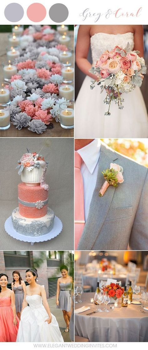 6 Amazing Grey Wedding Colors Inspired By Pantone 2018 Color Harbor Mist