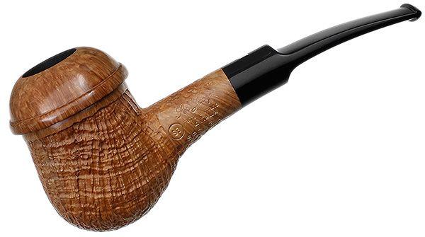 Ser Jacopo Tobacco Pipes: Captain Warren Sandblasted Bent Egg (S3)