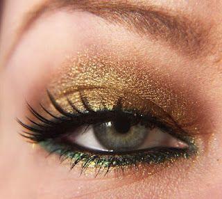 teal and gold makeup  makeup for hazel eyes prom eye makeup