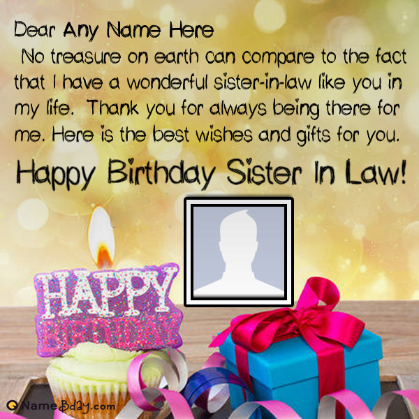 Celebrate Sister In Law Birthday In A New Way Sister in