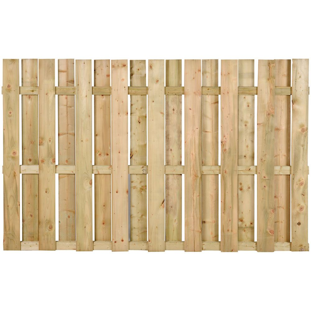 Cloture En Bois Traite Carree Br 5 Pi X 8 Pi Ct5c Cloture Bois Patio En Bois Design De Cloture